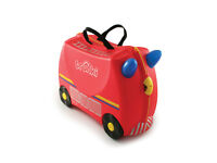 New, Boxed: Trunki Fire Engine Ride On Travel Case