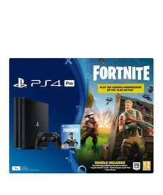 PlayStation 4 PRO bundle, Controller, 365 day PSN membership & Fortnite Codes. All unused