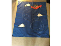 IKEA blue flying bedroom/playroom rug