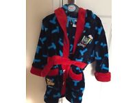 Thomas the tank engine dressing gown age 2-3 years