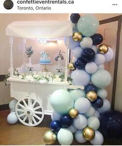 Candy cart, Sweet cart, Cake stand . Sweet table