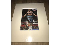 Hand Signed Ricky Hatton Picture - Genuine & COA