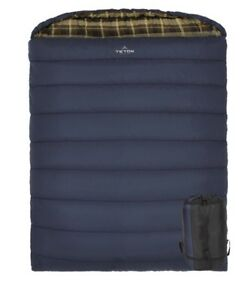 Teton Mammoth 2-person sleeping bag. Queen size. 0 degree rating