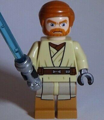 Lego Star Wars Obi-Wan Kenobi (Medium Nougat Legs) Minifigure Minifig 75012