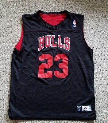 Chicago Bulls #23 Reversible Practice Style Jersey Jordan NBA  Alleson Athletic