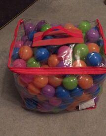 Bag of ball balls