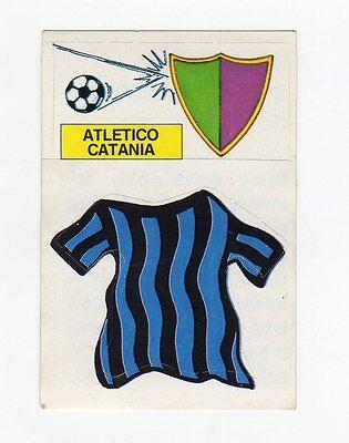 figurina CALCIO FLASH 1988 SCUDETTO CON MAGLIA ATLETICO CATANIA image