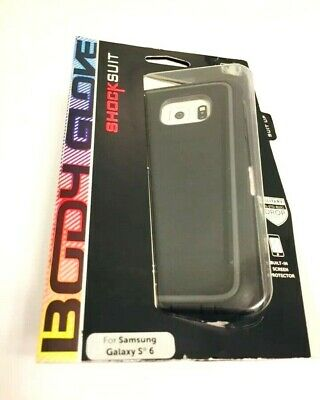 BODY GLOVE SHOCKSUIT CASE/COVER w/BUILT IN SCREEN PROTECTOR SAMSUNG GALAXY S6 -