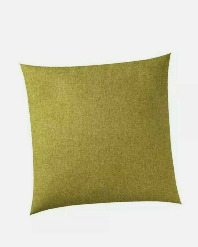 GLENNA JEAN FAST TRACK GREEN SOLID THROW PILLOW RETRO