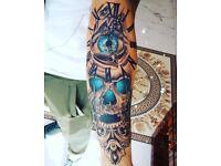 Tattoo studio artist