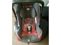 Britax baby car seat and carrier