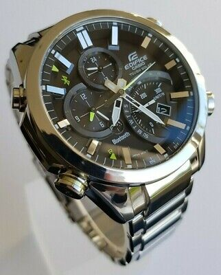 Casio Edifice Bluetooth Solar Watch EQB-500 - top condition!
