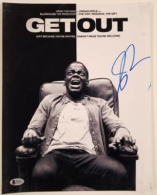 Jordan Peele Signed Get Out 11X14 Photo Director Writer Oscar B Beckett Bas Coa