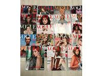 VOGUE magazines 20 in total