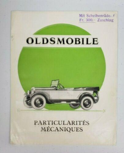 1926-27 Oldsmobile Sales Folder (German)