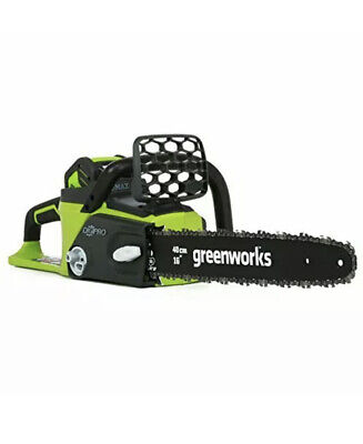 Greenworks 16-Inch 40V Cordless Chainsaw - Chain and Battery Not Included NIB