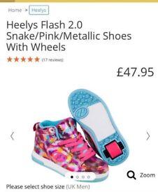 Heelys size 3 (brand new)