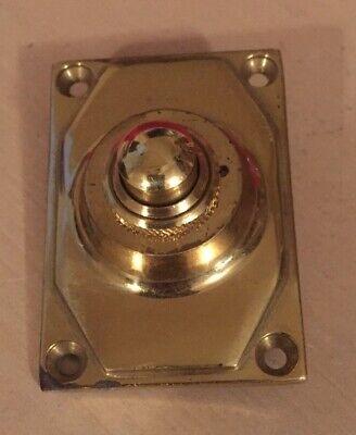 Frank Allart Art Deco Brass Bell Push