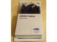 HDML Cable 3m, 24k, Gold Plated