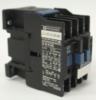 Telemecaniqueschneider Contactor Lc1d12 120v Great Condition Tested