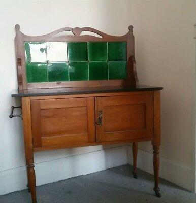 Victorian wash stand