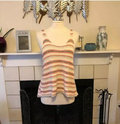 Free People Striped Knot Tank Top Size XS