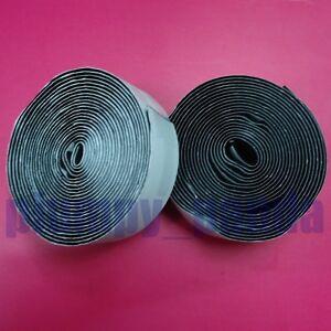 1 black self adhesive fastening tape velcro roll hook loop sewing fabric ebay. Black Bedroom Furniture Sets. Home Design Ideas