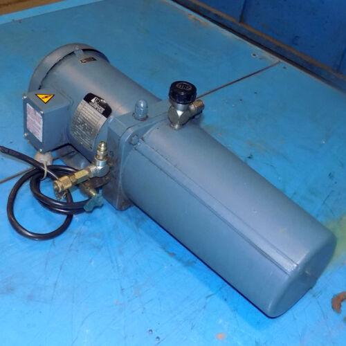 DELTA POWER HYDRAULIC 1-1/2HP PUMP MOTOR 35H652WZ06