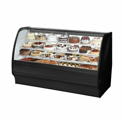 True Tgm-r-77-scsc-s-w 77 Refrigerated Bakery Display Case