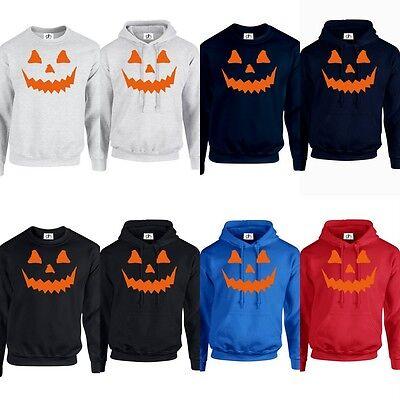 Halloween Top Billig Kapuzenpullover Pumpkin Horror Kostüm Karneval Gruselig