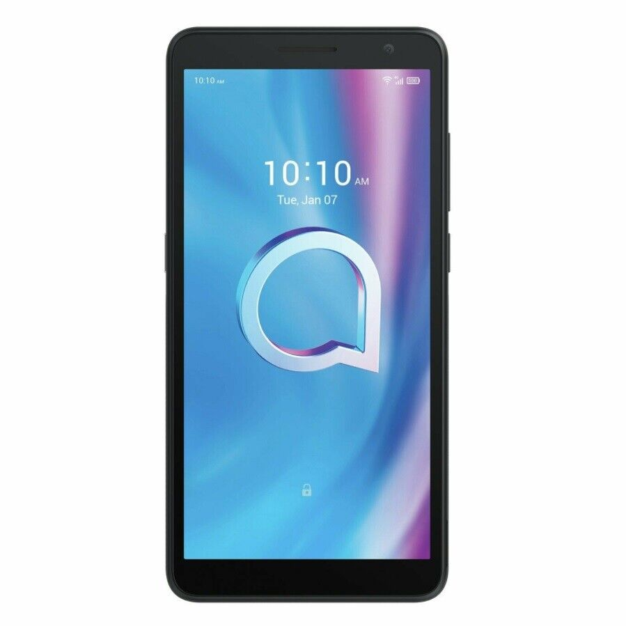 Android Phone - Alcatel 1B 32GB Android Smart Phone, EE Network, Metallic Black, Mobile Phone