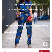Liyah fashion designer