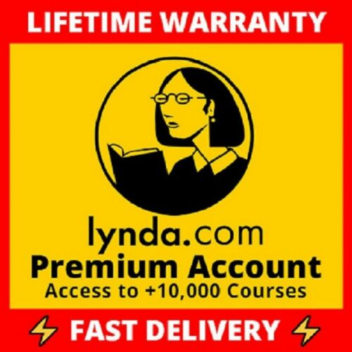 🆕 Premium Lynda.com Account ✅ Access to All Courses ✅ Lifetime