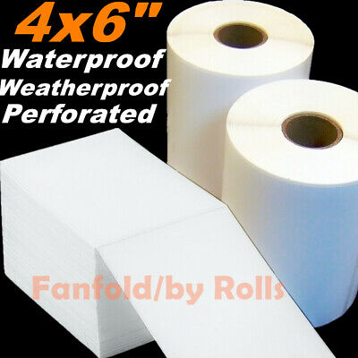 5-4000 Direct Thermal Labels Stickers Roll 4x6 Shipping Zebra Zp450 2844 Amazon