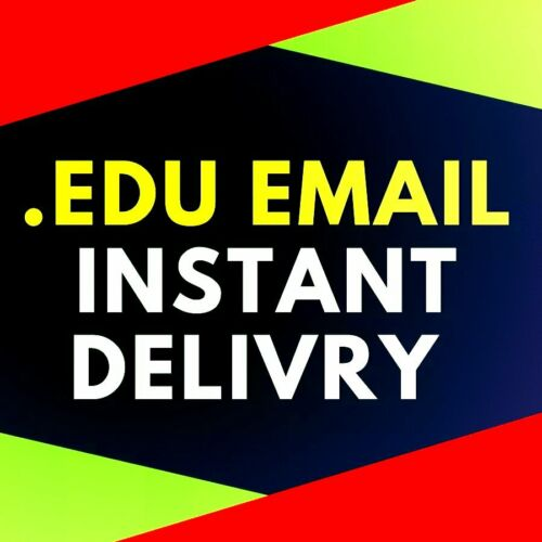 "🔥 EDU Email Student US School Educational Many BENEFITS ""CHEAP"" Fast Delivery🔥"