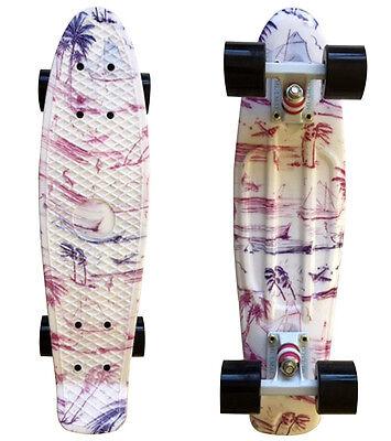 LMAI  22'' Cruiser Skateboard Graphic Hawii Board Penny Style skateboard