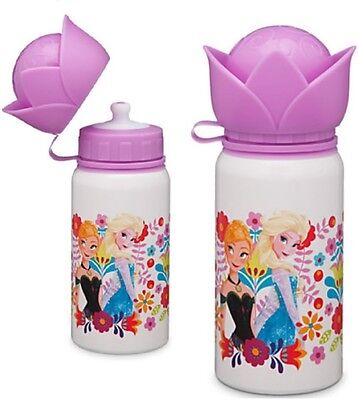 Disney Store Frozen Elsa Anna Aluminum Water Bottle Thermos