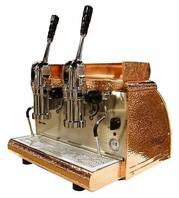 Victoria Arduino Athena Lever 2-group Espresso Machine Copper Free Installation