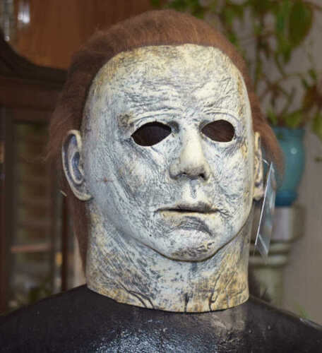 NWT TOTS MICHAEL MYERS HALLOWEEN 2018 MASK LISCENSED TRICK OR TREAT STUDIOS