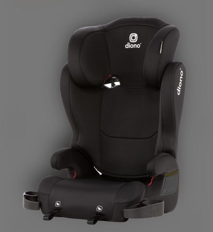 Diono Cambria 2 Latch, 2-in-1 Booster Seat, High-Back - BLACK Open Box