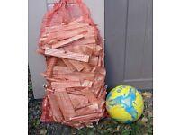 Big bags of firewood