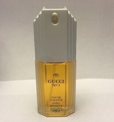 Gucci No 3 Eau De Toilette Vaporisateur Natural Spray Vintage (Gucci Eau De Toilette Vaporisateur Natural Spray)