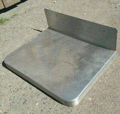 Mini Stainless Steel Prep Counter Top 16x12 W 5 Backsplash Kitchen Rv Table