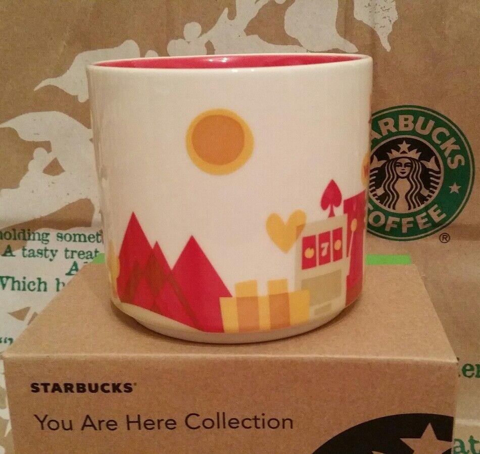 starbucks coffee mug tasse becher las vegas you are here. Black Bedroom Furniture Sets. Home Design Ideas