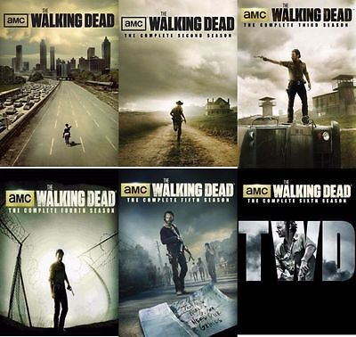 Used, The WALKING DEAD DVD ALL Season 1-6 Complete DVD Set Collection Series TV Lot R1 for sale  Shipping to Nigeria