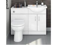 Bathroom Suite. Combined Unit.