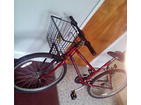 Redrock 21speed bicycle with a bucket in excellent condition