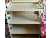 White Ikea Changing Table