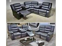 SUPER SALE - BRAND NEW RECLINER 3+2 AND CORNER SOFA