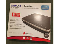 Humax FVP-4000T Freeview Play Tuner Set Top Box with 1TB Storage